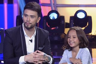 'Little Big Shots': Billy meets Coleen's 8-year-old 'look-alike'