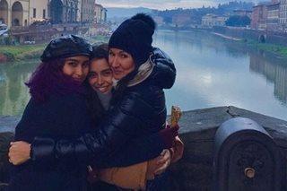 LOOK: Yassi Pressman finally meets half-sister in Italy
