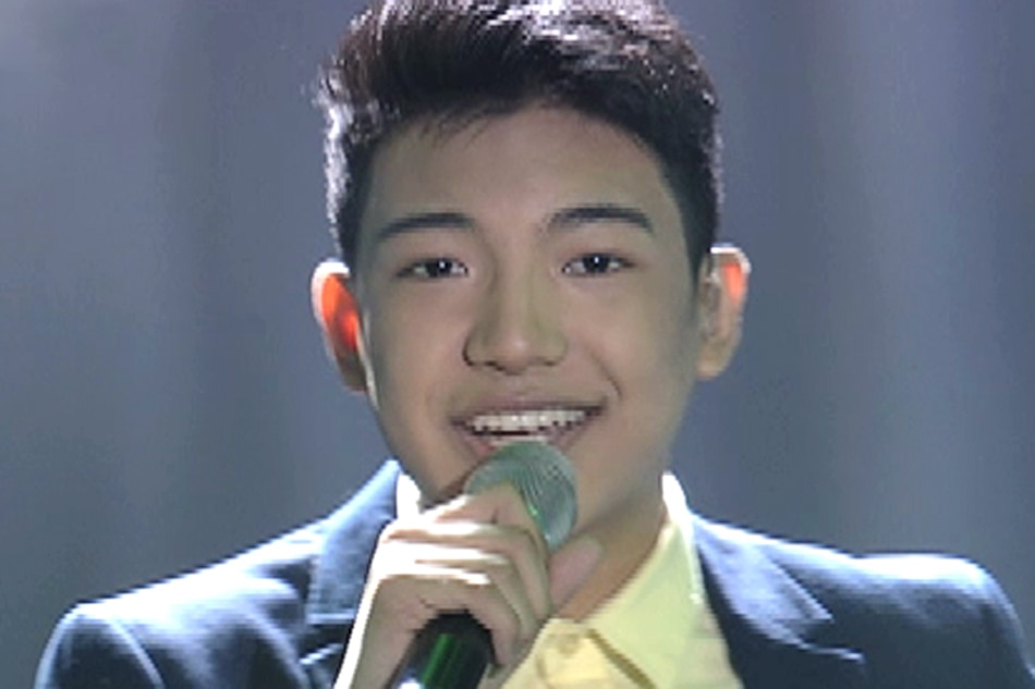 Darren sings theme of MMFF entry 'All of You'