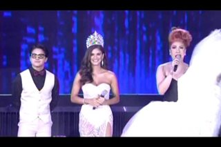 Vice Ganda, Pia Wurtzbach recreate 2015 Miss Universe coronation night