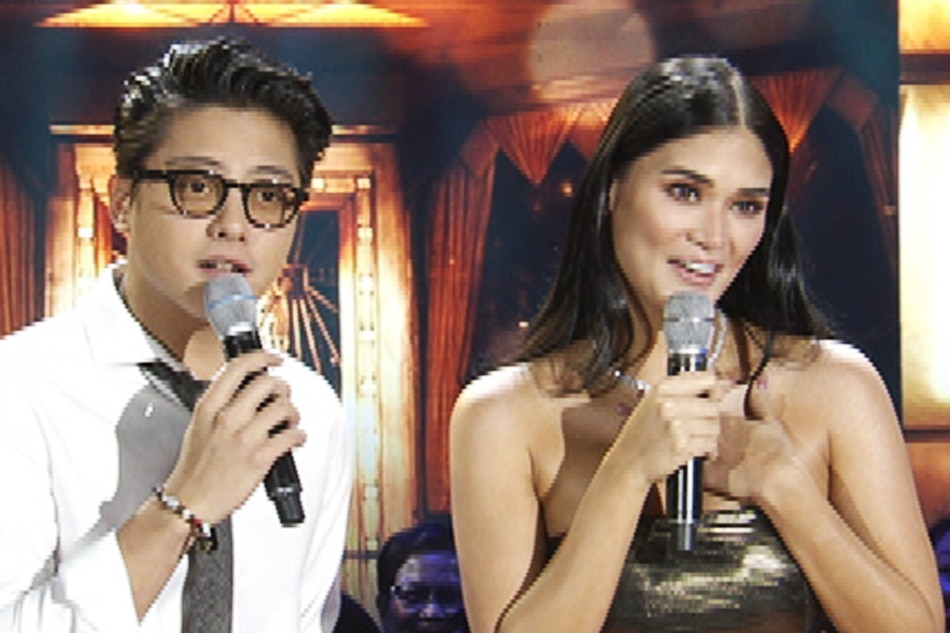 Pia, Daniel in 'Something Stupid' duet