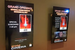 CityMall, ABS-CBN bring cinemas to Boracay