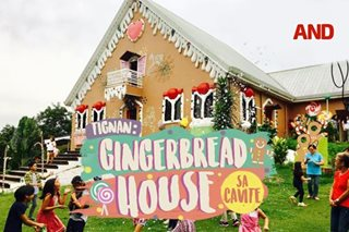 Tingnan: Gingerbread house sa Cavite