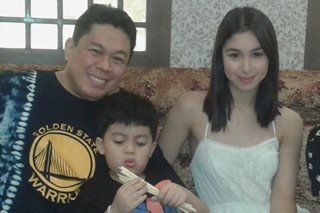 LOOK: Julia Barretto celebrates Christmas with Dennis Padilla early
