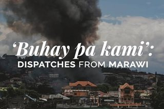 Report from Marawi