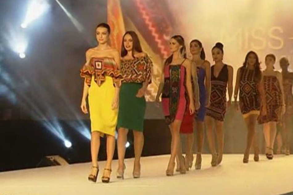 Miss Universe beauties stun in Mindanao-inspired outfits | ABS-CBN News