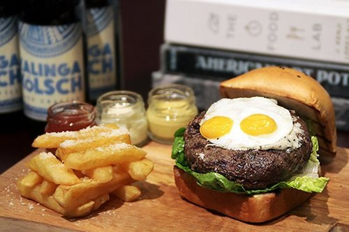 Food shorts: Unli ribs, beer and pancakes; Mr. Ube's salted egg bun