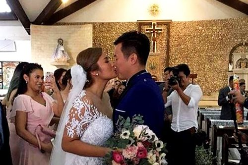 IN PHOTOS: Ehra Madrigal weds fiancé in Boracay
