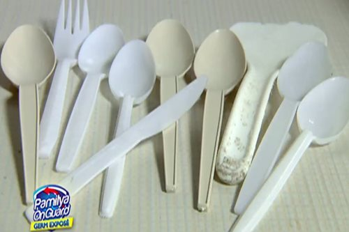 Is it safe to recycle plastic eating utensils?