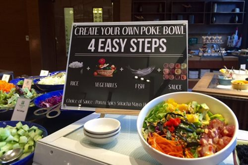 Lenten eats: Holiday Inn's Flavors adds poke station to buffet