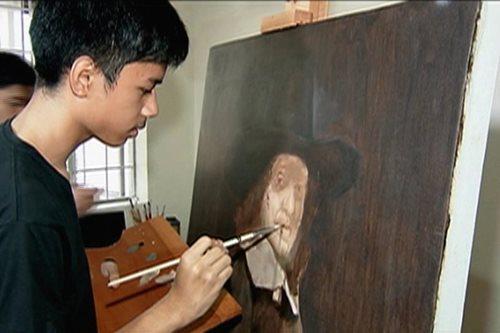 PANOORIN: Batang pintor, inspirasyon si Rembrandt