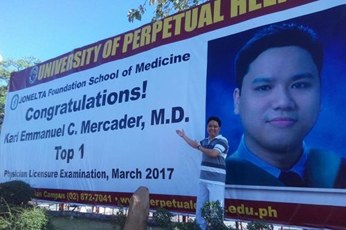 Did you know? Medical board topnotcher almost quit school