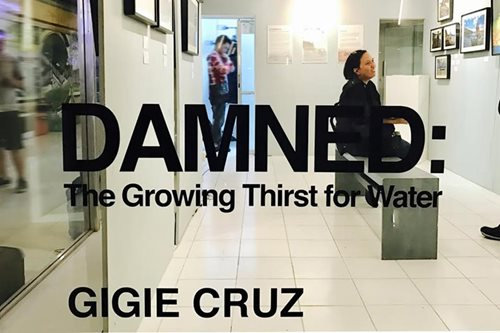 In solo exhibit, ABS-CBN News photojournalist puts focus on water shortage