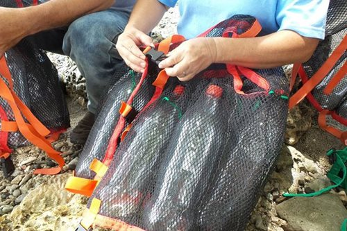 Samal residents turn garbage into lifesavers