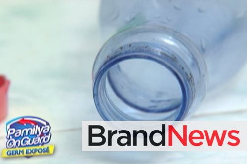 Improperly washed water bottles may cause illnesses