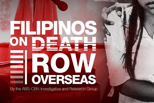 INFOGRAPHIC: Filipinos on death row overseas