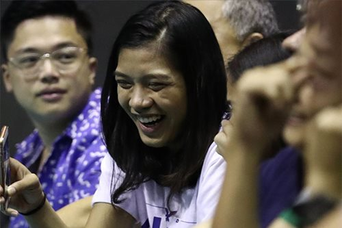 Alyssa tells Lady Eagles: Smile more, relax