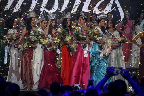 IN PHOTOS: Bb. Pilipinas 2017 coronation night