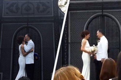 LOOK: Beauty Gonzalez marries fiancé in Tagaytay