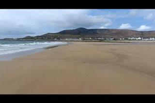 Beach sa Ireland, lumitaw ulit matapos ng 30 taon