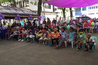 LOOK: Kiddie party held for young leukemia patients