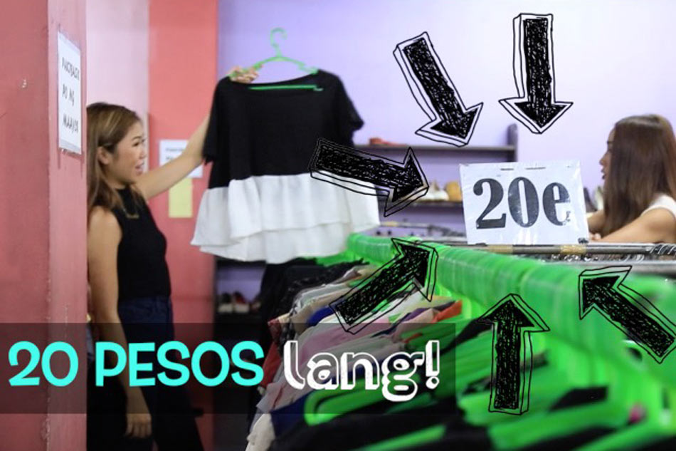 P50 'ukay' challenge: Anong outfit ang mabubuo mo?