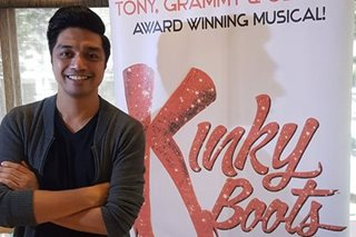 Nyoy Volante excited to play role of drag queen in 'Kinky Boots'