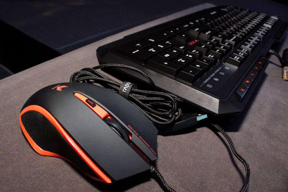 Rapoo targets gamers for VPRO keyboard, mouse, headset | ABS-CBN News