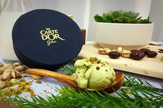 4 flavors to introduce UK gelato Carte D'Or to PH market