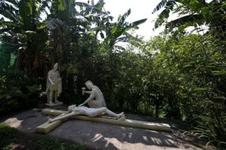'Prayer park' in Batangas offers solace for visitors