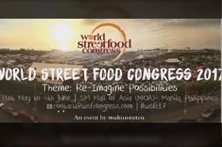 Manila ready to host World Street Food Congress 2017