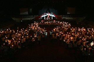 AIDS candlelight memorial, isinagawa sa Palawan
