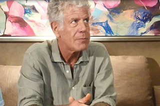 When will Pinoy food become popular? Bourdain answers