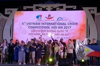 DLSU Chorale Bacolod wins big in Vietnam choir competition