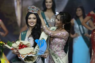 Karen Ibasco on Miss Earth victory: It's never easy to win in your own country
