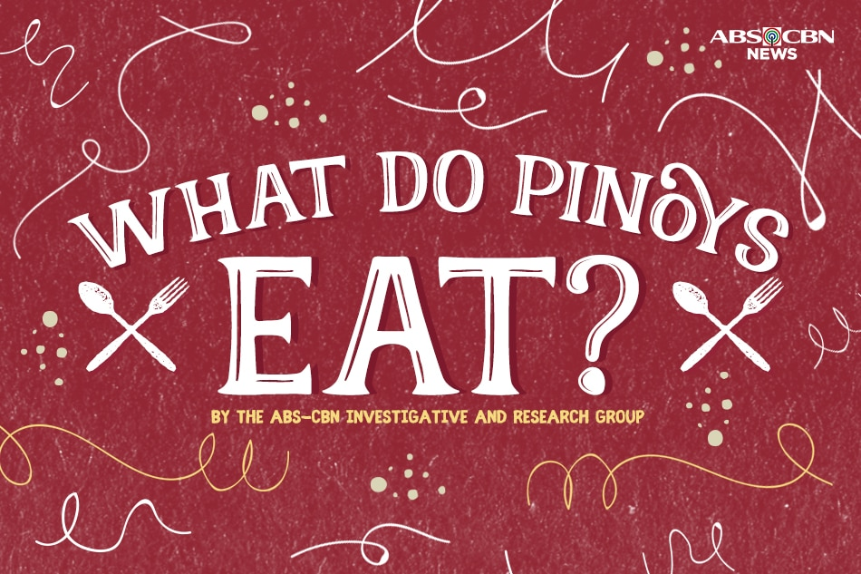 What do Pinoys eat?