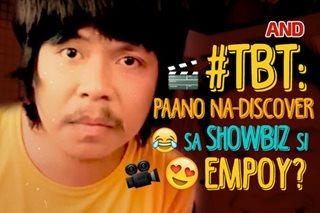 #TBT: Paano na-discover sa showbiz si Empoy?