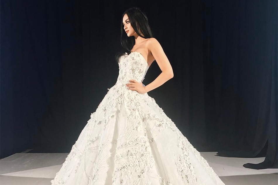 WATCH: Kylie Verzosa steals bridal show in Francis Libiran gown ...