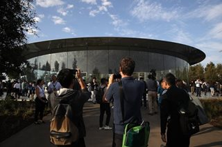 LOOK: Apple's new 'spaceship' HQ