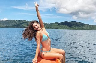Former Miss USA Nia Sanchez back in PH to explore Palawan