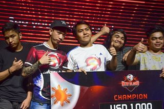 Pinoy DOTA 2 newbies begin road to P50-M tourney