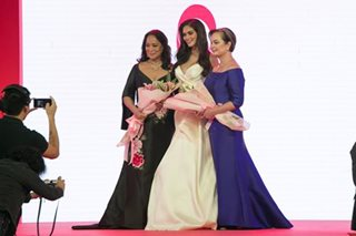 LOOK: Miss Universe beauties in fashion show for breast cancer awareness