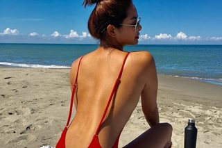 What rain? Beach-ready Maxine Medina sizzles in La Union