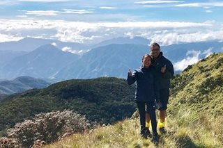 LOOK: Mar, Korina conquer Mt. Pulag
