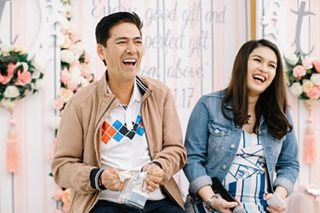 LOOK: Vic Sotto's kids arrange baby shower for Pauleen Luna