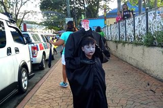 LOOK: Hundreds of students join Halloween parade in Tanauan