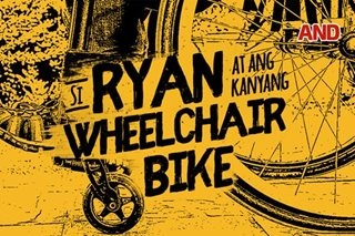 Si Ryan at ang kanyang wheelchair bike