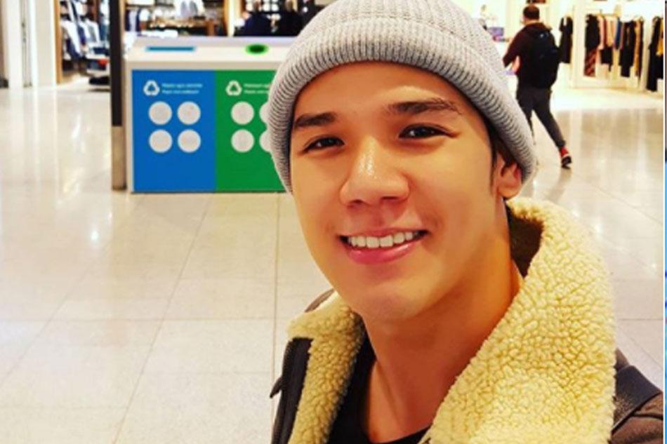 Gerald Santos back in PH for short break from 'Miss Saigon' tour