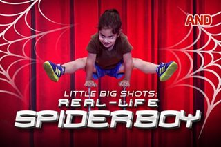 Little Big Shots: Real-life spiderboy