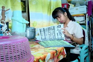 'Kwek-kwek' vendor's daughter among topnotchers in teachers' board exam